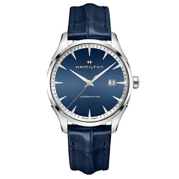 スイス製Hamilton【ハミルトン】JazzMaster Gent【ジャズマスタージェント】クォーツ腕時計H324516411/正規代理店商品