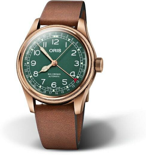 80周年記念!スイス製ORIS【オリス】Big Crown Pointer Dateビッグクラウン・ポインターデイト誕生80周年自動巻き腕時計/ブロンズケース採用/正規代理店商品