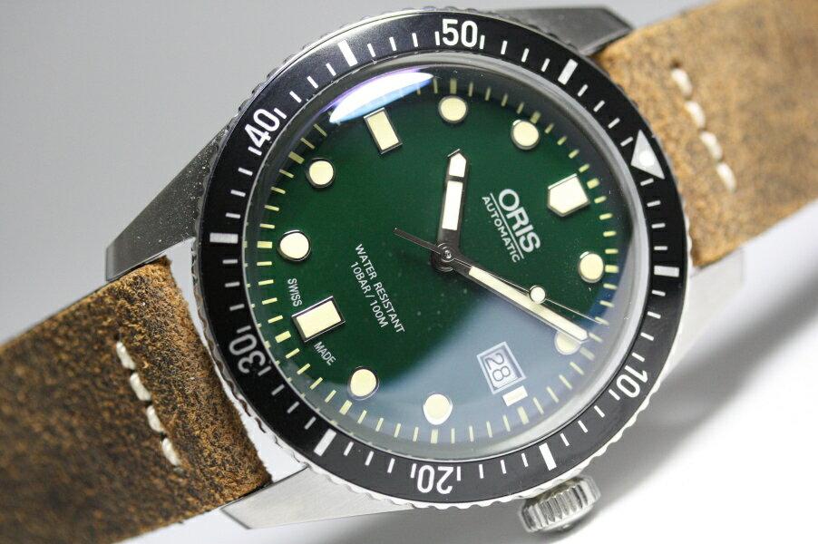 復刻!スイス製ORIS【オリス】ダイバーズ65自動巻き腕時計/ケース直径42ミリのメンズウォッチ/正規代理店商品