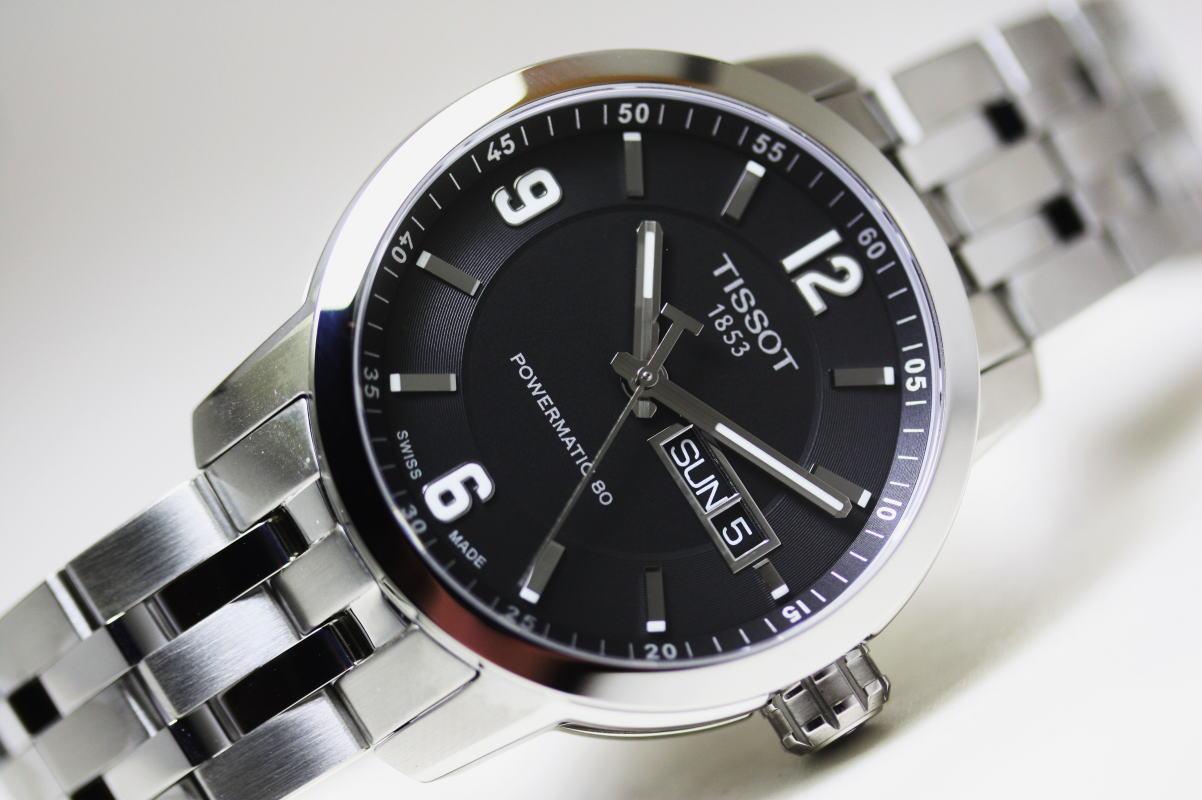 スイス製Tissot【ティソ】PRC200 Automatic自動巻きPOWERMATIC80搭載!パワーマティック/20気圧防水腕時計/正規代理店商品