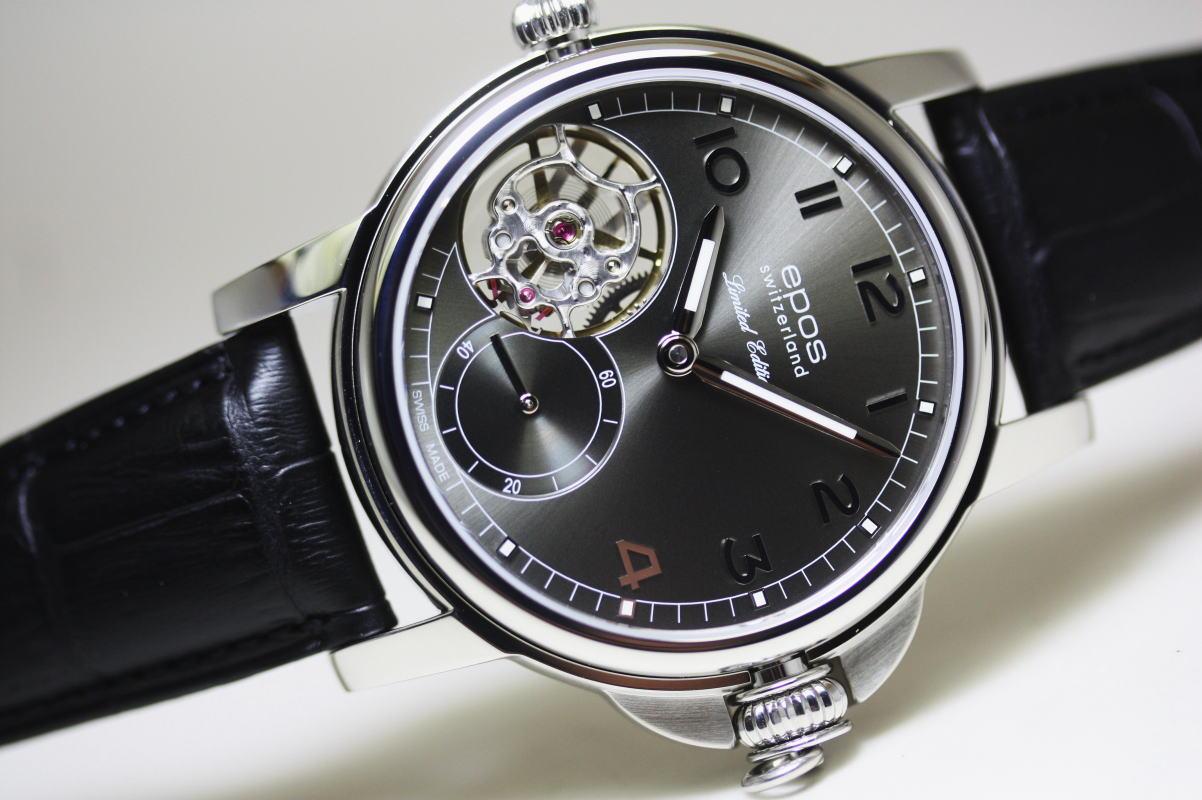 世界限定222本!スイス製EPOS【エポス】腕時計にも懐中時計にもなるマスターピース・コレクションの手巻き腕時計/ポケットウォッチ