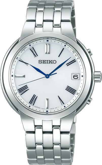 ソーラー電波搭載!SEIKO【セイコー】SPITRIT【スピリッツ】ソーラー電波腕時計/10気圧防水