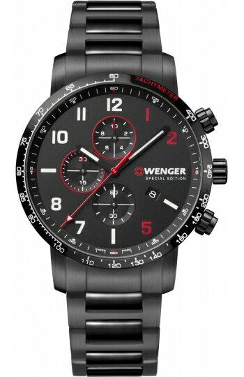 スイス製WENGER【ウェンガー】Attitude【アティチュード】クォーツ・クロノグラフ腕時計/正規代理店商品
