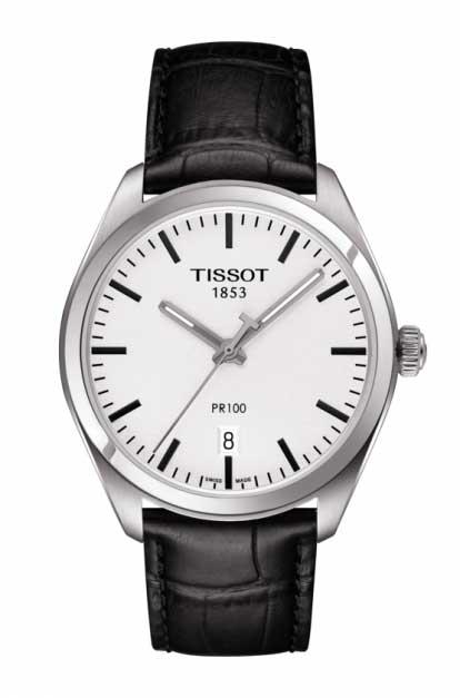 リーズナブルな価格のスイス製Tissot【ティソ】PR100クォーツ腕時計T101.410.16.031.00正規代理店商品メンズウォッチ