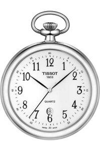 スイス製TISSOT【ティソ】クォーツ懐中時計ポケットウォッチ/デイト付き/正規代理店商品/お手頃価格のポケットウォッチ/