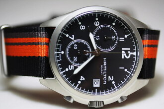 HamiltonKhaki 卡其色-飞行员-先锋-计时手表和军用手表和英国的军队