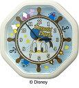 ドナルドダックのからくり時計/掛時計/プレゼントにオススメ/リズム時計/送料無料/クリスマス/入学祝い/卒園祝い/入園祝い/ディズニー