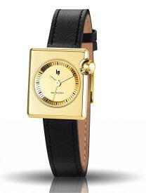 【レディース】フランスのLIP【リップ】MACHマッハ2000ゴールド・スクエア/デザイン・ウォッチ腕時計/ロジェ・タロン/女性用腕時計/メーカー希望小売価格30,800円/送料無料