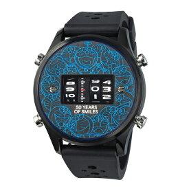 1970年代のローラー式腕時計のFUTURE FUNK【フューチャーファンク】とドラえもんの限定コラボ!Doratch【ドラッチ】ドラムウォッチ/アナログデジタル腕時計/アナデジ/正規代理店商品/送料無料/クリスマス/腕時計