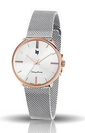 フランスのLIP【リップ】DAUPHINE【ドフィネ】クォーツ腕時計/デザインウォッチ 腕時計/メーカー希望小売価格41,800円送料無料/メッシュベルト/ミラネーゼ/34ミリ/ボーイズサイズ