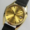 ゴールドカラー!復刻スイス製ZODIAC【ゾディアック】Olympos【オリンポス】自動巻き腕時計/正規代理店商品/メンズウォッチ/スティング…