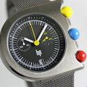 ニューヨーク近代美術館永久保存デザイン!フランスのLIP【リップ】マッハ2000クロノグラフ・デザインウォッチ腕時計/ミラネーゼベルト…