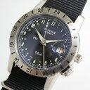GMT搭載!スイス製GLYCINE【グリシン】Airman Vintage【エアマン・ビンテージ】Noon自動巻き腕時計/ミリタリーウォッチ/腕時計/アメリ…