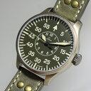 Laco ラコ 世界限定250本のみ!ドイツ空軍採用 自動巻き腕時計 AACHEN42Olive アーヘン42オリーブ ミリタリーウォッチ 腕時計 正規代理…