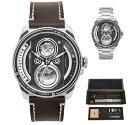 TACS タックス 世界限定500本のカメラのレンズをイメージ TWIN LENS ツインレンズ 自動巻き腕時計 正規代理店商品 日本製 TS2002A-SET
