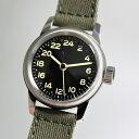 アメリカ陸軍航空隊モデルを復刻!M.R.M.W.ミリタリーウォッチ/TYPE A-11/24時間表示のクォーツ腕時計/エルジン