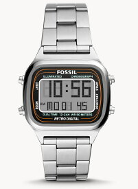 FOSSIL フォッシル RETRO DIGITAL レトロデジタル デザインウォッチ デジタル時計 正規代理店商品 プレゼントにもオススメ 男性用腕時計