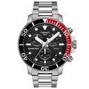 Tissot ティソ Seastar 1000 シースター クォーツ・クロノグラフ腕時計 300m防水 正規代理店商品 スイス製 男性用腕時計 メンズウォッ…