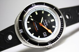 スイス製ZODIAC【ゾディアック】Super Sea Wolf68【シーウルフ】自動巻き腕時計1000m防水