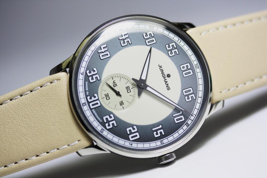 ドイツのJUNGHANS【ユンハンス】Meister Driver【マイスタードライバー】手巻き腕時計/バウハウス・デザインウォッチ