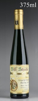[2004] 375 ml of ヴィリ シェーファーグラーヒャードームプロブストリースリング Auslese gold capsule #08 halves ※Rub it, and there is a label in a dirt