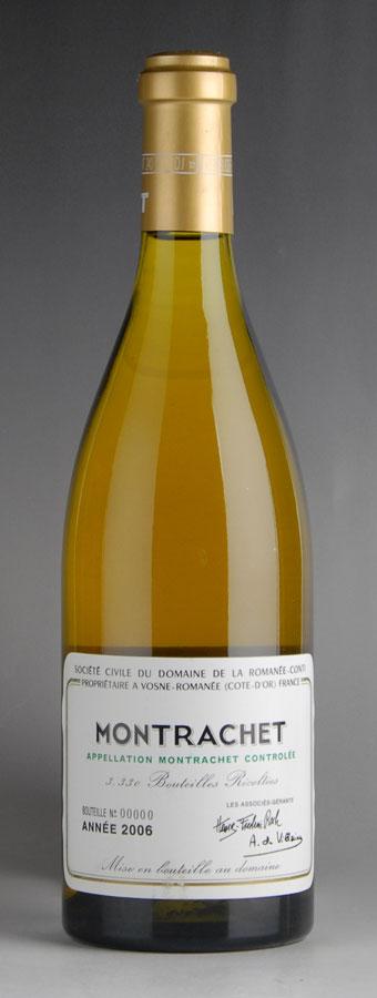 [2006] ドメーヌ・ド・ラ・ロマネ・コンティ DRC モンラッシェ ※ラベル擦れ