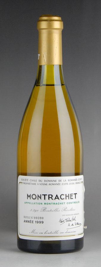 [1999] ドメーヌ・ド・ラ・ロマネ・コンティ DRC モンラッシェ ※ラベル破れ、液面低め