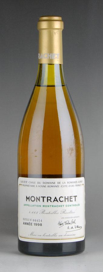 [1998] ドメーヌ・ド・ラ・ロマネ・コンティ DRC モンラッシェ ※液面低め