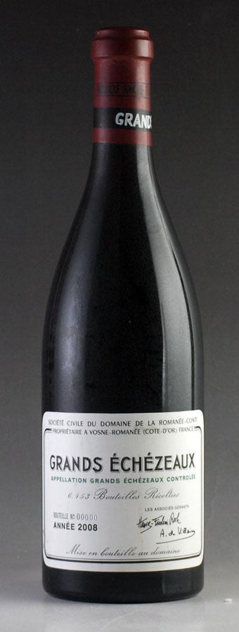 [2008] ドメーヌ・ド・ラ・ロマネ・コンティ DRC グラン・エシェゾー