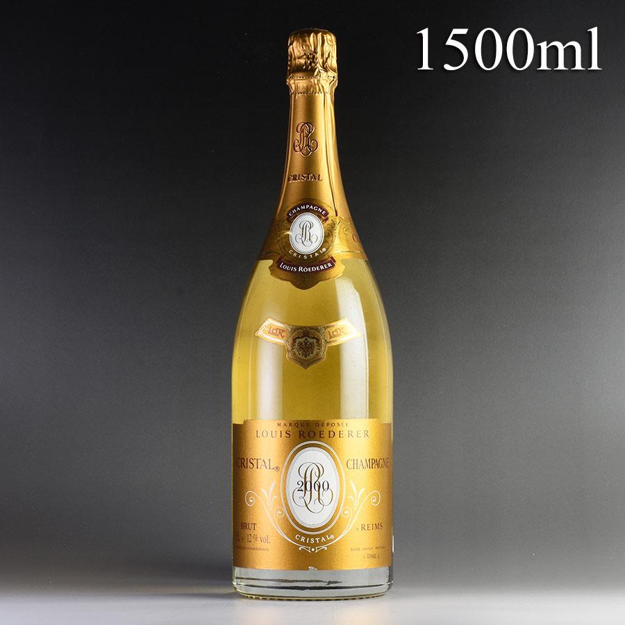 [2000] ルイ・ロデレール クリスタル マグナム 1500ml