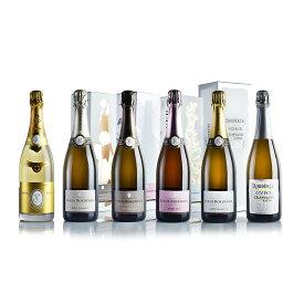 ルイ ロデレール クリスタル シャンパンセット 6本 正規品 ルイ・ロデレール セット シャンパーニュ