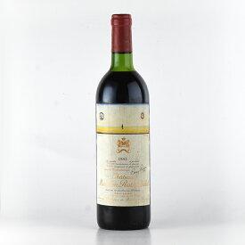 シャトー ムートン ロートシルト 1983 ロスチャイルド Chateau Mouton Rothschild フランス ボルドー 赤ワインSALE★特別価格