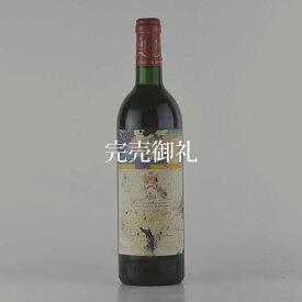 シャトー ムートン ロートシルト 1984 ラベル不良 ロスチャイルド フランス ボルドー 赤ワイン