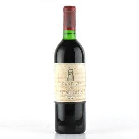 シャトー ラトゥール 1974 フランス ボルドー 赤ワイン