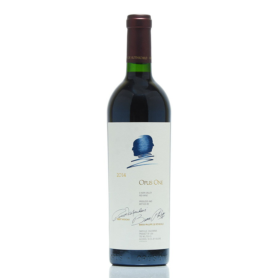 【楽天最安に挑戦中】[2014] オーパス・ワン 【オーパスワン カリフォルニア ナパ 赤ワイン】