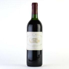 シャトー マルゴー 1984 ラベル不良 フランス ボルドー 赤ワイン