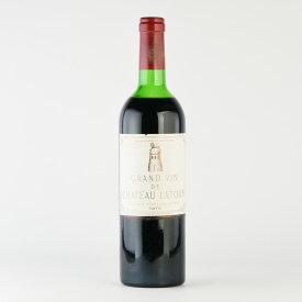 シャトー ラトゥール 1975 フランス ボルドー 赤ワイン