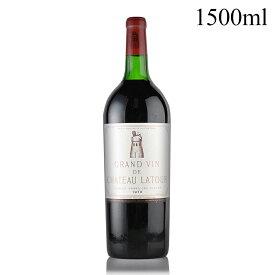 シャトー ラトゥール 1970 マグナム 1500ml 液漏れ フランス ボルドー 赤ワイン