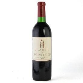シャトー ラトゥール 1973 フランス ボルドー 赤ワイン