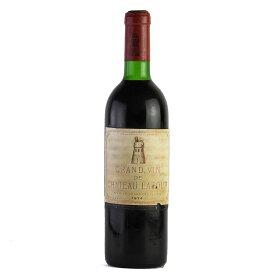 シャトー ラトゥール 1974 ラベル不良 フランス ボルドー 赤ワイン