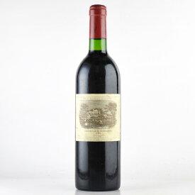 シャトー ラフィット ロートシルト 1984 ラベル不良 ロスチャイルド フランス ボルドー 赤ワイン