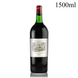 シャトー ラフィット ロートシルト 1970 マグナム 1500ml ラベル不良 ロスチャイルド フランス ボルドー 赤ワイン