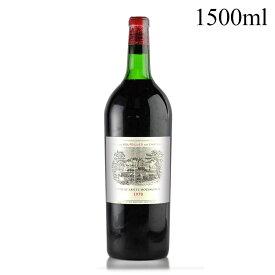 シャトー ラフィット ロートシルト 1970 マグナム 1500ml キャップシール不良 ロスチャイルド フランス ボルドー 赤ワイン