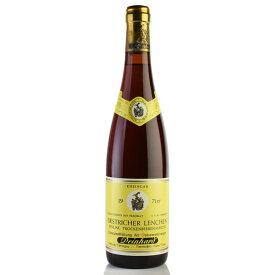 ダインハルト エストリッヒャー レンヒェン リースリング トロッケンベーレンアウスレーゼ 1971 液漏れ ドイツ 白ワイン[のこり1本]SALE★特別価格