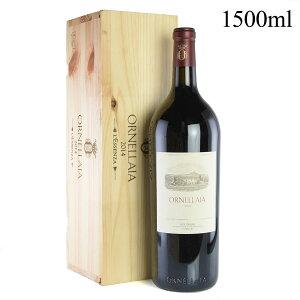 オルネライア 2014 マグナム 1500ml 木箱入り 正規品 オルネッライア イタリア 赤ワイン[のこり1本]