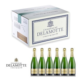 ドゥラモット ブランドブラン ミレジメ 2012 1ケース 6本 正規品 ブラン ド ブラン シャンパン シャンパーニュ