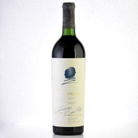 オーパスワン 1984 キャップシール不良 オーパス ワン オーパス・ワン カリフォルニア ナパ 赤ワイン