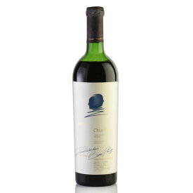 オーパスワン 1987 キャップシール不良 液漏れ オーパス ワン オーパス・ワン カリフォルニア ナパ 赤ワイン