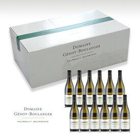 ジェノ ブーランジェール ピュリニー モンラッシェ レ ガレンヌ 2017 1ケース 12本 正規品 フランス ブルゴーニュ 白ワイン