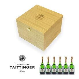 テタンジェ コント ド シャンパーニュ ブラン ド ブラン 2008 1ケース 6本 オリジナル木箱入り ブランドブラン フランス シャンパン シャンパーニュ